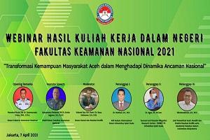 FKN Unhan RI Laksanakan Webinar Hasil KKDN 2021