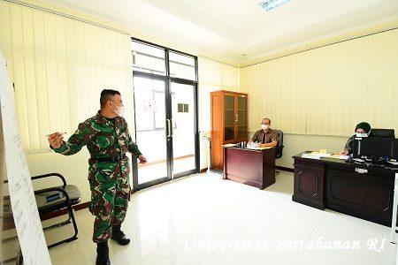 Kadet Mahasiswa S1 Fakultas Kedokteran Militer Unhan RI melaksanakan ujian SOCA (Student Oral Case Analyses)