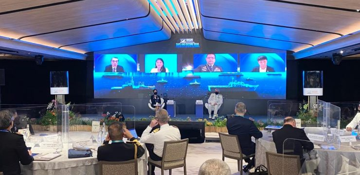 "Rektor Unhan RI Menjadi Pembicara Pada ""7th International Maritime Security Conference"" diselenggarakan oleh S Rajaratnam School of International Studies bersama The Republic of Singapore Navy"