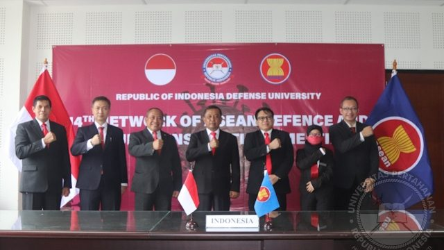 Universitas Pertahanan RI menghadiri workshop Track II Network of ASEAN Defence and Security Institutions (NADI) 2021