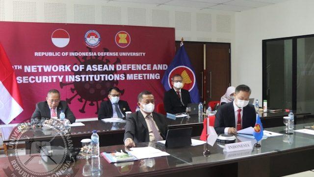 Kegiatan Hari ke – 2 workshop Track II Network of ASEAN Defence and Security Institutions (NADI) 2021,
