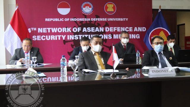 Kegiatan hari ke – 3 Workshop Track II Network of ASEAN Defence and Security Institutions (NADI) 2021