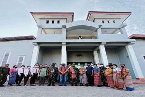 Fakultas Vokasi Unhan RI melaksanakan kegiatan Tri Dharma Perguruan Tinggi bidang pengabdian kepada masyarakat di Gereja Santo Dominikus Lakafehan Atapupu