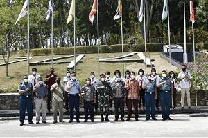 Fakultas Vokasi Unhan RI Terima Kunjungan Universitas Negeri Timor