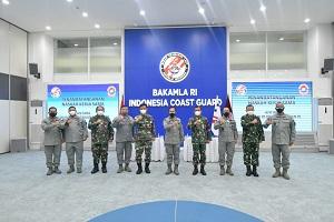 Unhan RI Laksanakan MoU dan Perjanjian Kerja Sama (PKS) dengan Badan Keamanan Laut Republik Indonesia (Bakamla RI)
