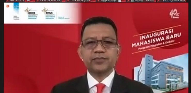 Rektor Unhan RI Berikan Kuliah Umum di Universitas Bina Nusantara (BINUS University) pada Inaugurasi Program Magister dan Program Doctoral Semester Ganjil 2021/2022