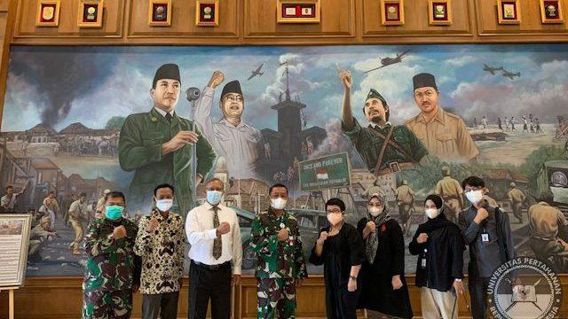 Fakultas Keamanan Nasional Unhan RI terima Audiensi Kerjasama FISIP Unila