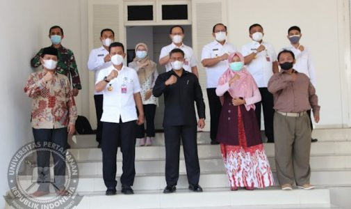Rektor Unhan RI terima kunjungan Ketua Lajna Cinta Tanah Air (LCTI)