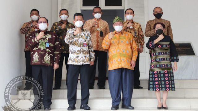 Rektor Unhan RI terima kunjungan Rektor Universitas Multimedia Nusantara