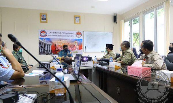 Universitas Pertahanan RI Terima Audiensi SMA Unggulan Al Bayan